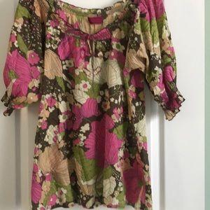 Cimarron made in Paris multi blouse